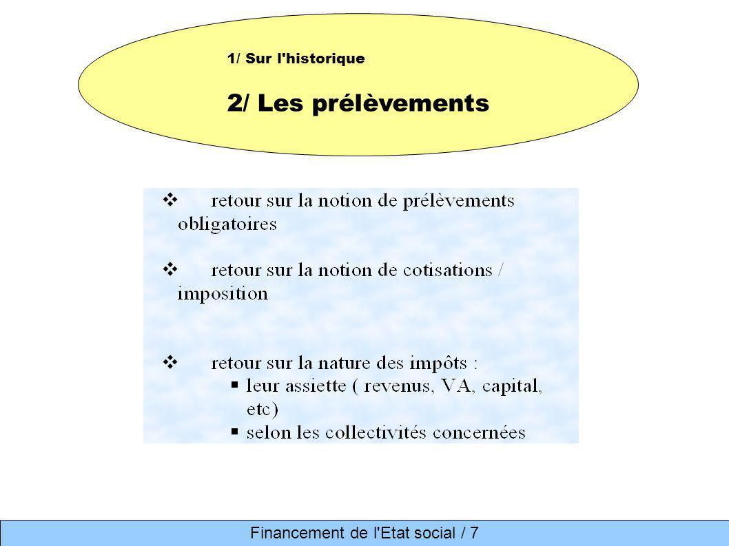 Financement de l Etat social / 7