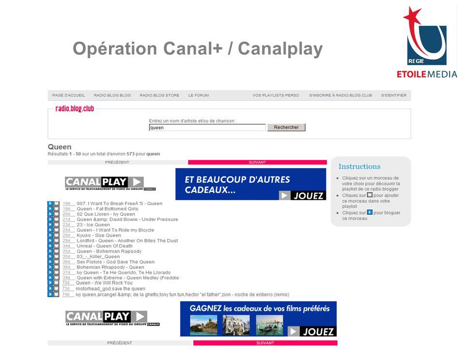 Opération Canal+ / Canalplay