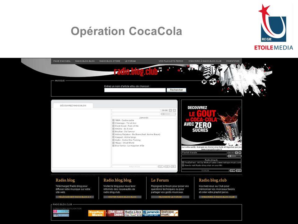Opération CocaCola © Etoile Media Régie 2007