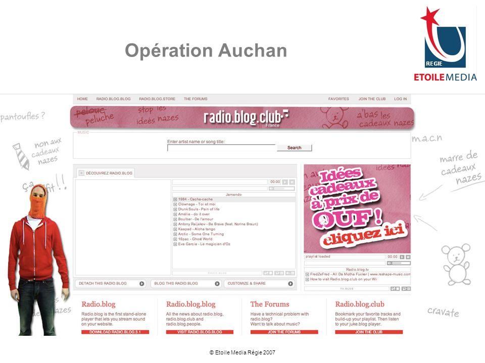 Opération Auchan © Etoile Media Régie 2007