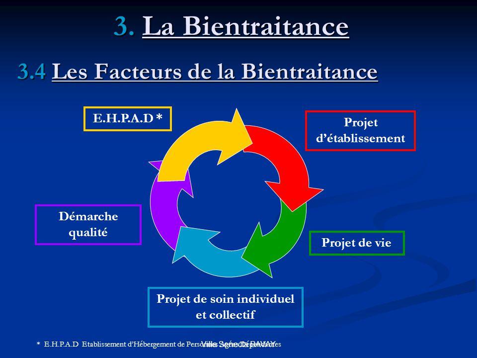 3.4 Les Facteurs de la Bientraitance