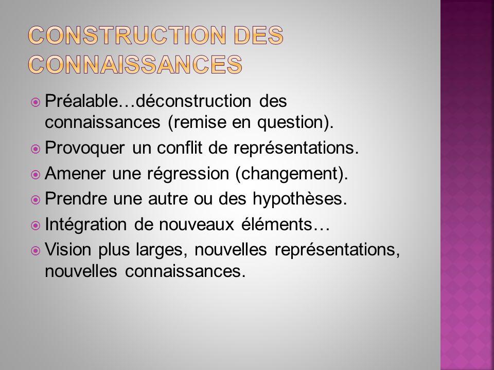 Construction des connaissances