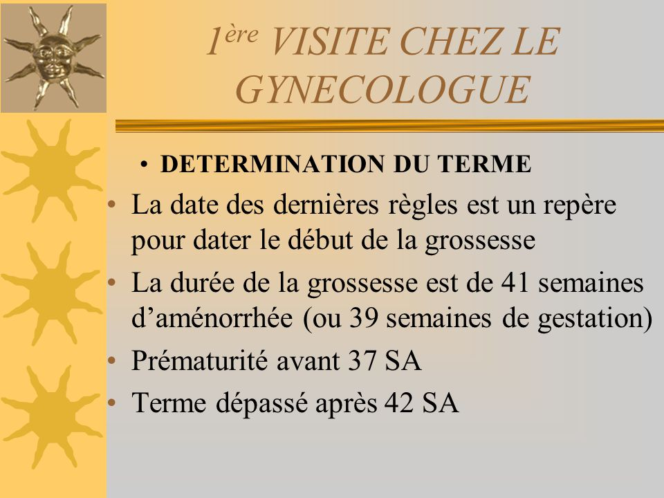 1ère VISITE CHEZ LE GYNECOLOGUE