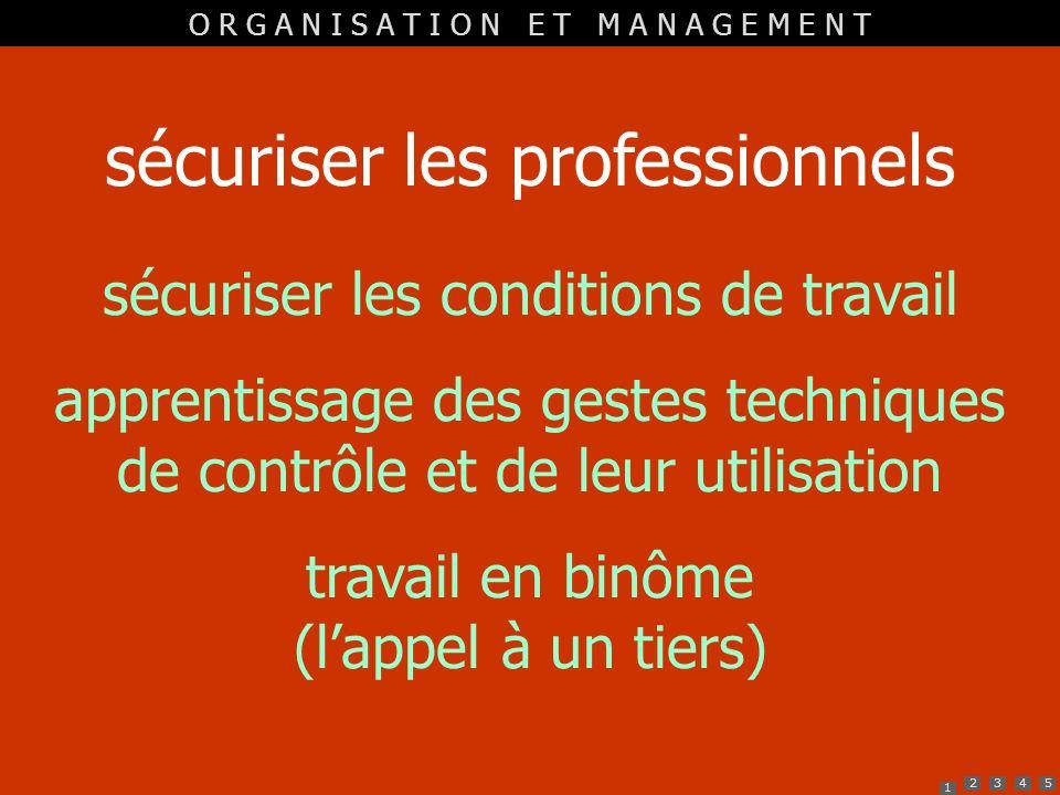 sécuriser les professionnels