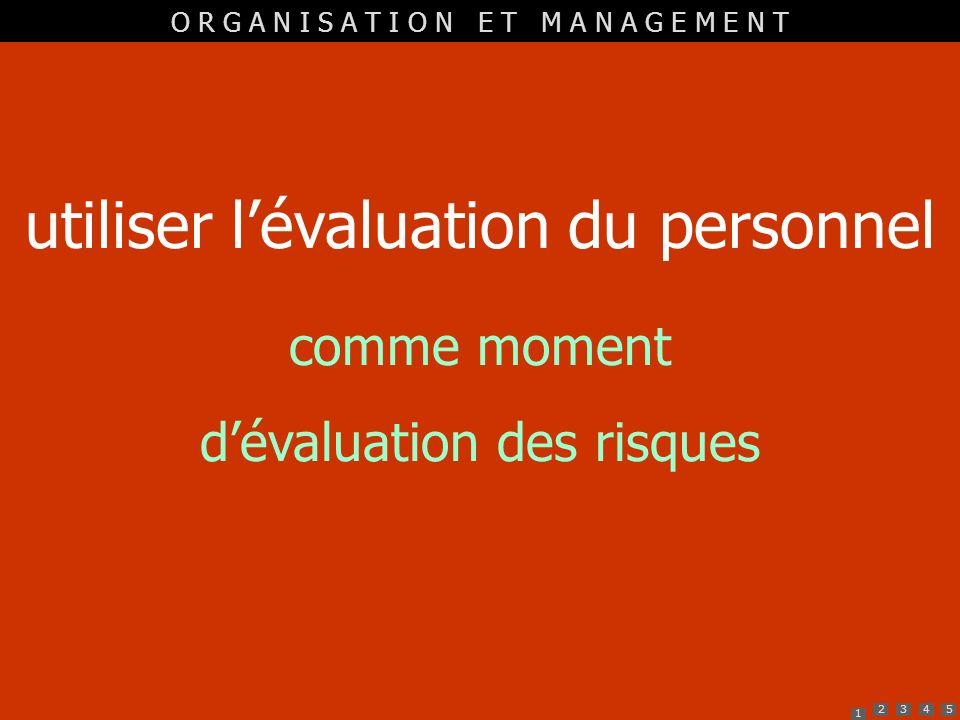 utiliser l'évaluation du personnel