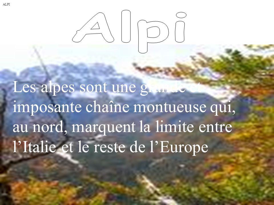 ALPI Alpi.