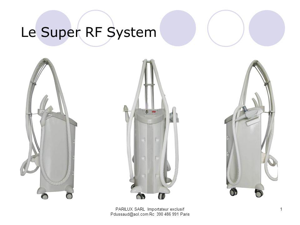 Le Super RF System PARILUX SARL Importateur exclusif Pdussaud@aol.com Rc 390 486 991 Paris