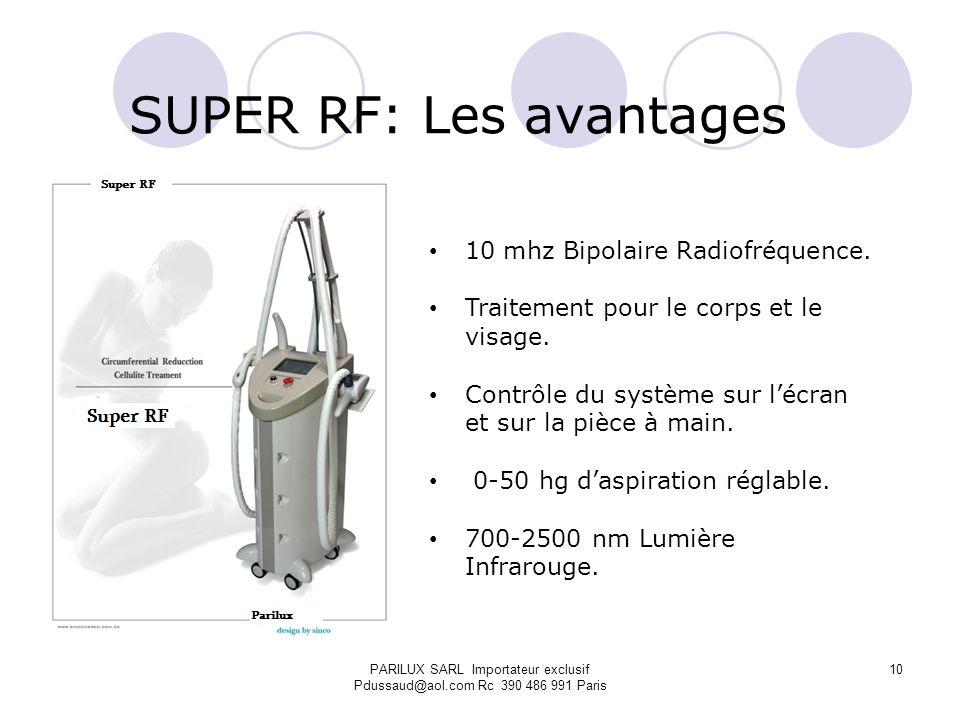 SUPER RF: Les avantages