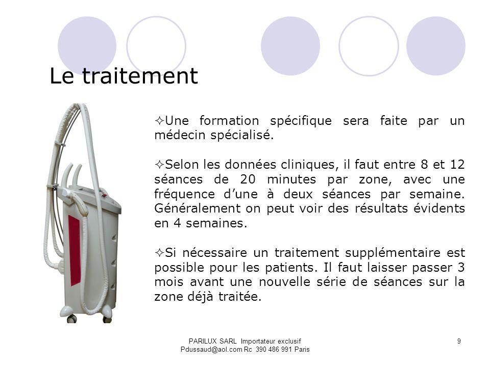 Le traitement Une formation spécifique sera faite par un médecin spécialisé.