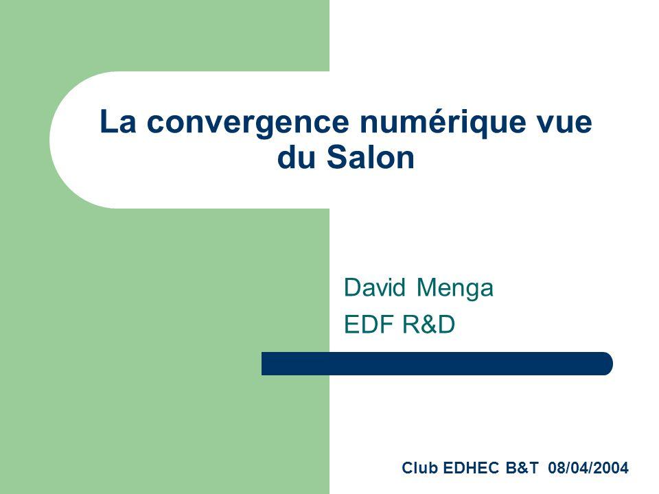 La convergence numérique vue du Salon