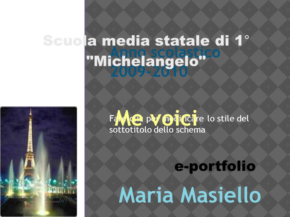 Scuola media statale di 1° Michelangelo