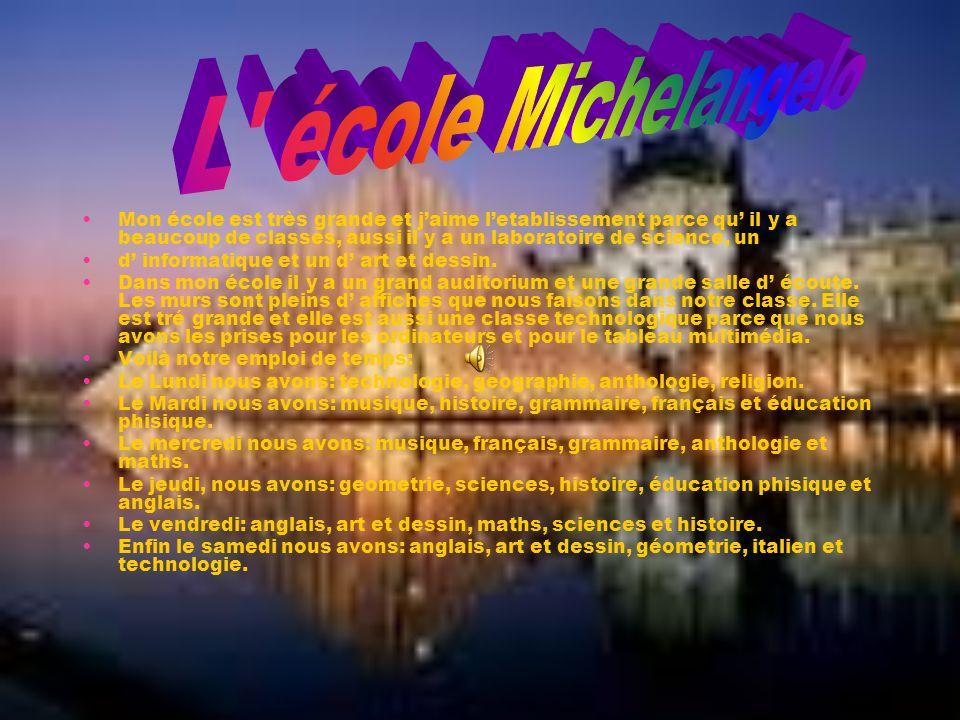 L école Michelangelo