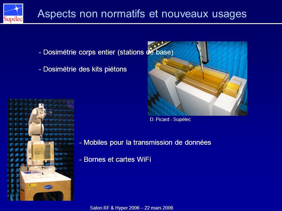 Aspects non normatifs et nouveaux usages