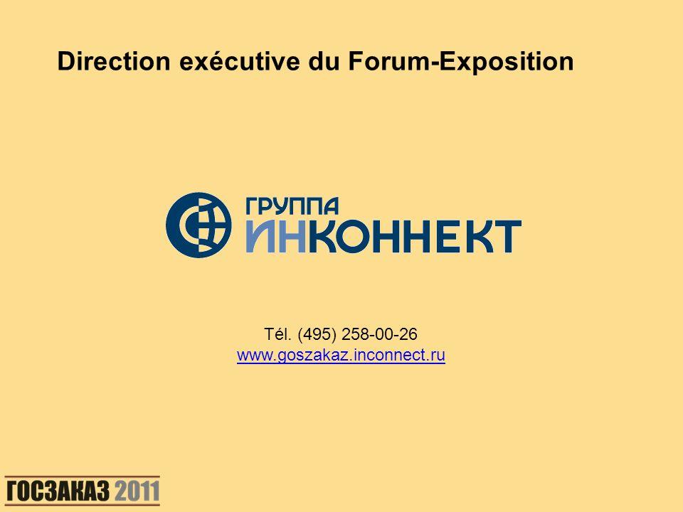 Direction exécutive du Forum-Exposition