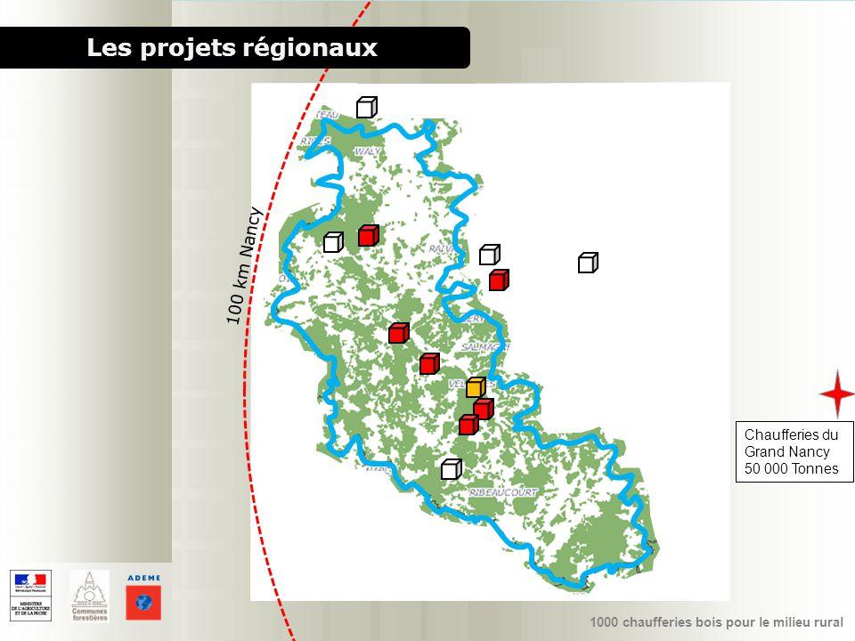 Les projets régionaux 100 km Nancy Chaufferies du Grand Nancy