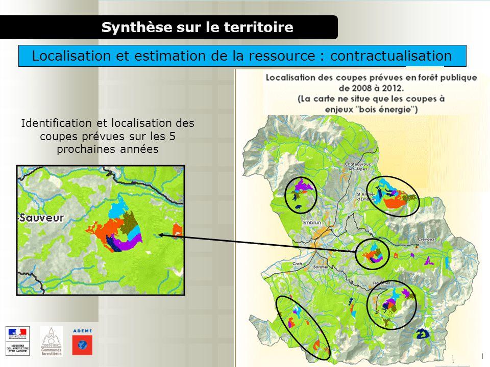 Localisation et estimation de la ressource : contractualisation