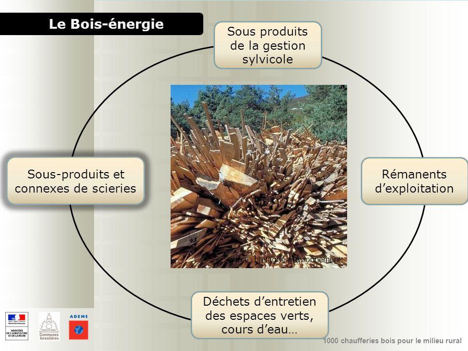 Le Bois-énergie Sous produits de la gestion sylvicole
