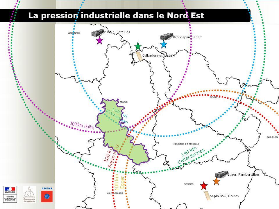 La pression industrielle dans le Nord Est