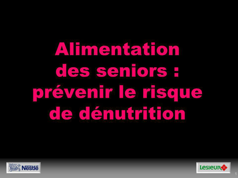 Alimentation des seniors : prévenir le risque de dénutrition