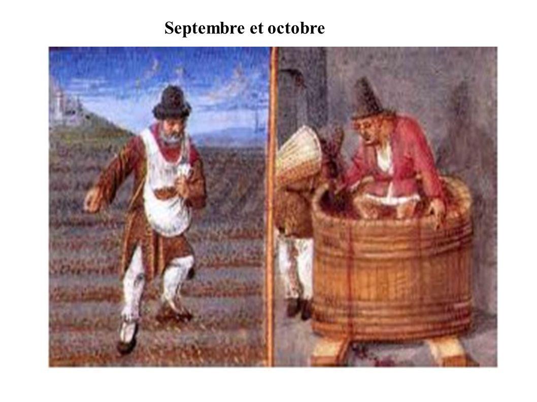 Septembre et octobre