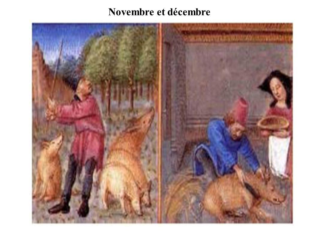 Novembre et décembre