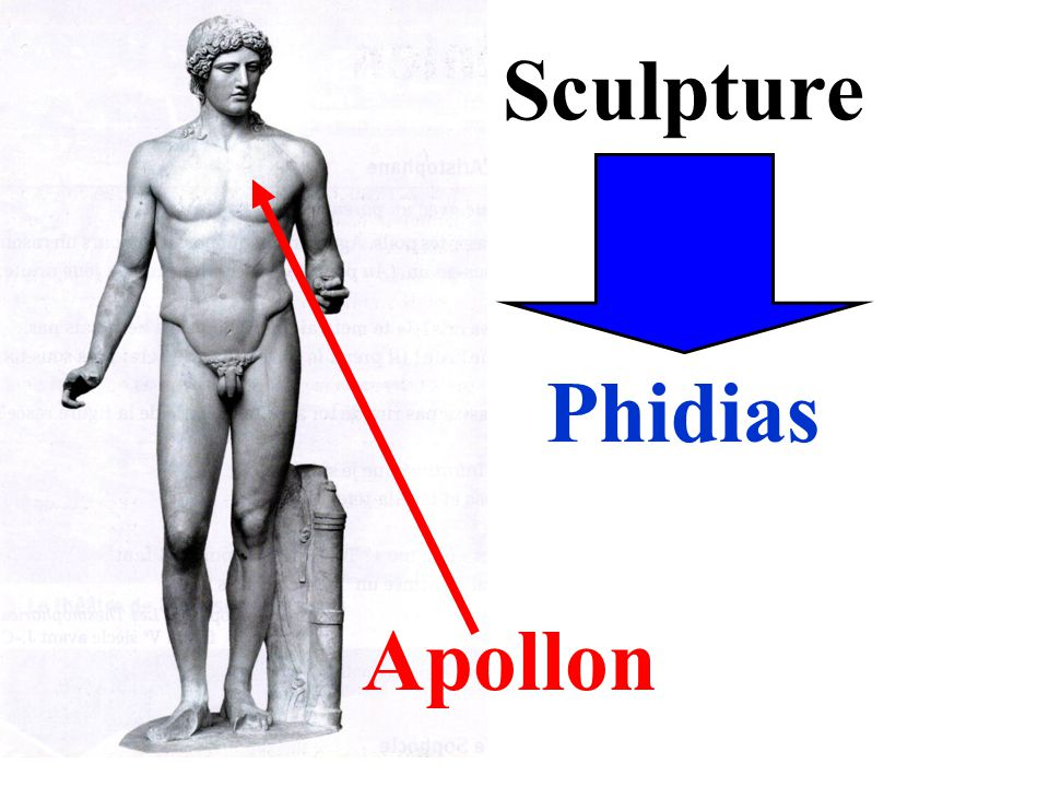 Sculpture Phidias Apollon