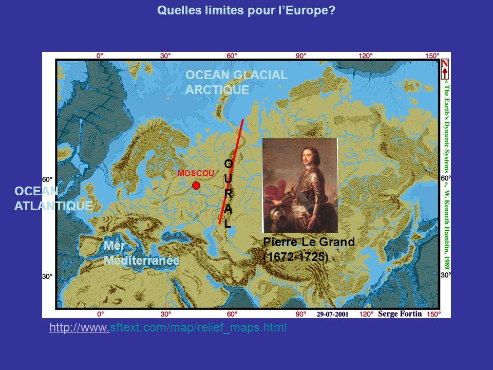 Quelles limites pour l'Europe