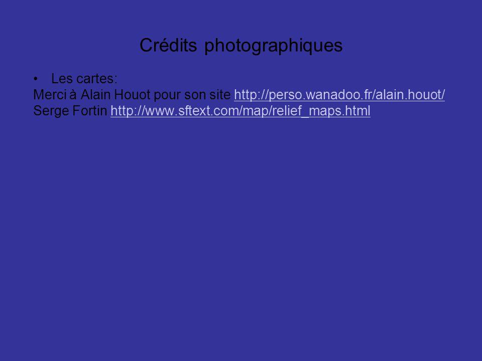 Crédits photographiques