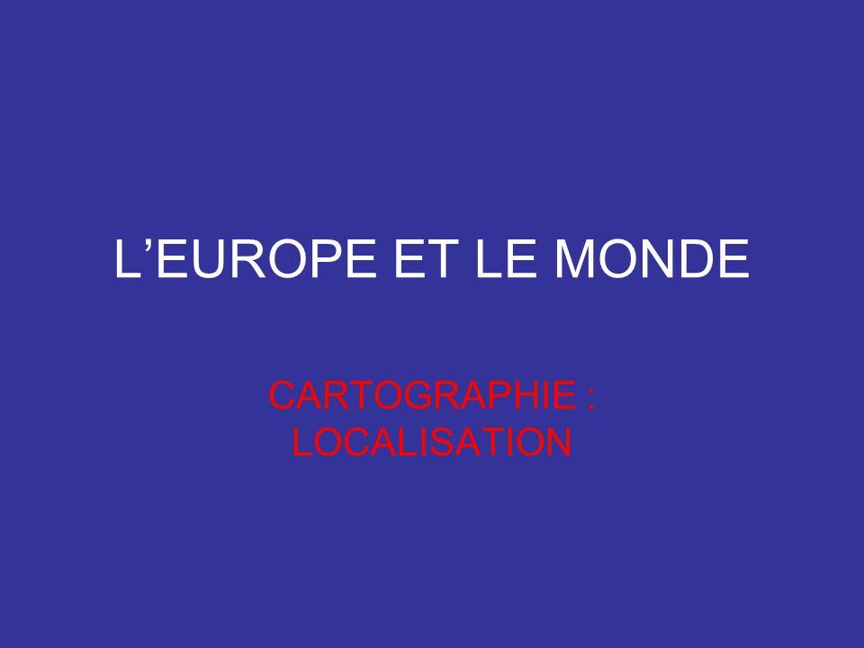 CARTOGRAPHIE : LOCALISATION