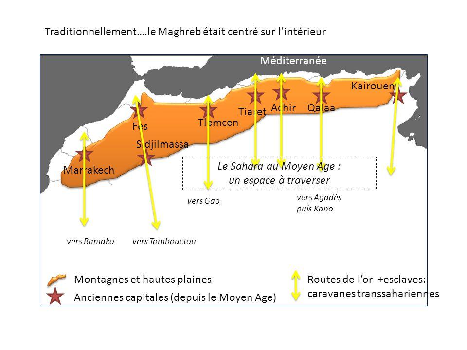 Traditionnellement….le Maghreb était centré sur l'intérieur
