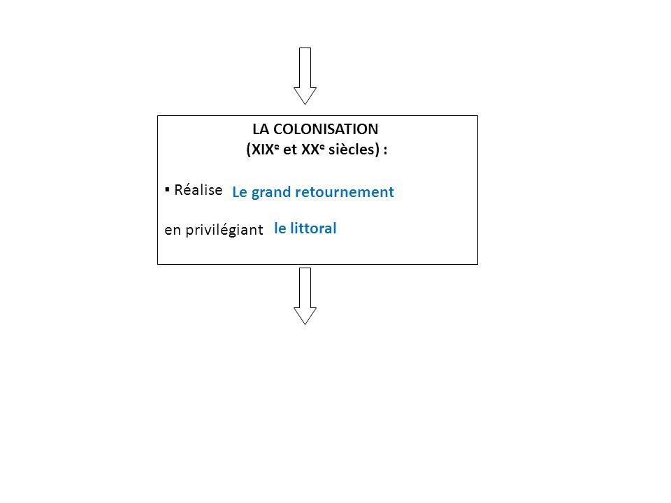 LA COLONISATION (XIXe et XXe siècles) : ▪ Réalise.