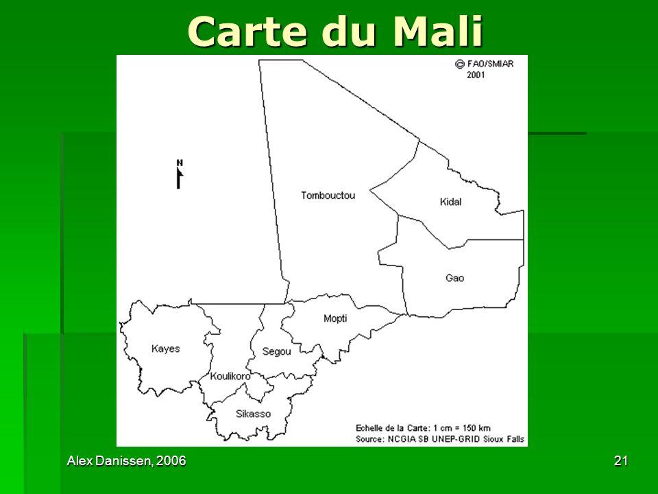Carte du Mali Alex Danissen, 2006