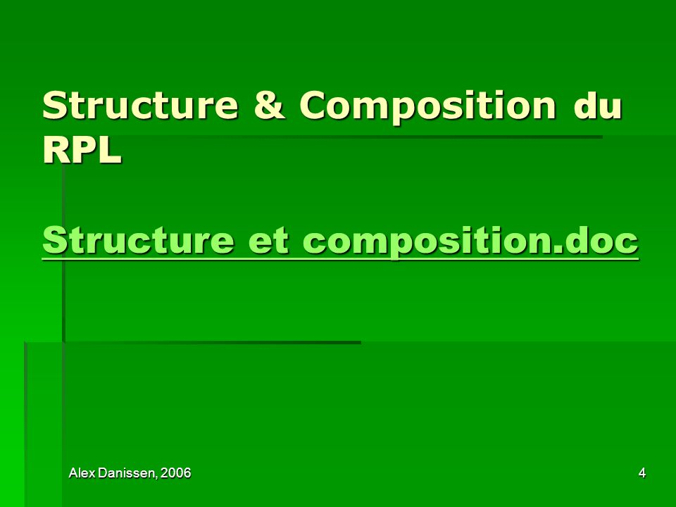 Structure & Composition du RPL Structure et composition.doc