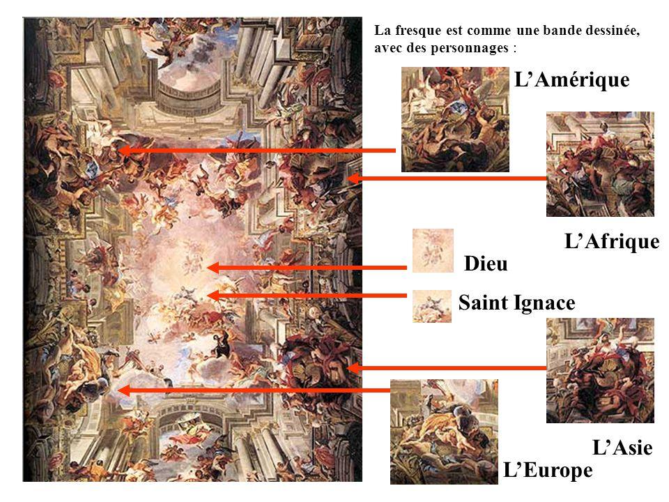 L'Amérique L'Afrique Dieu Saint Ignace L'Asie L'Europe