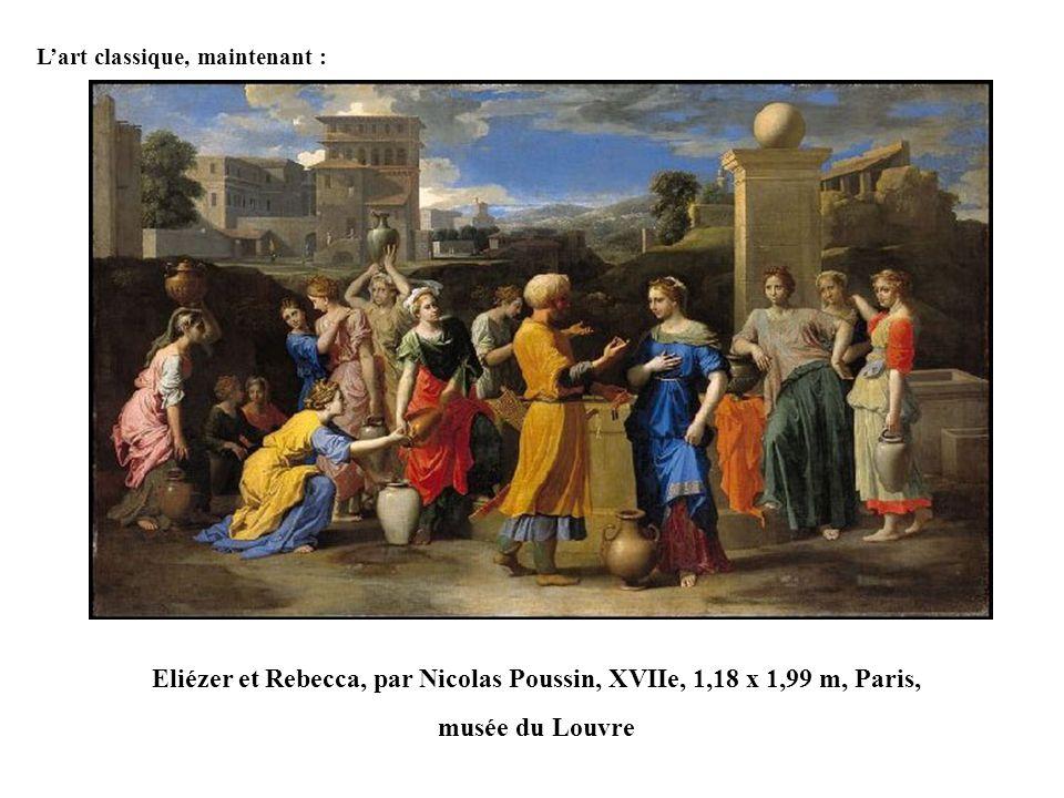 Eliézer et Rebecca, par Nicolas Poussin, XVIIe, 1,18 x 1,99 m, Paris,