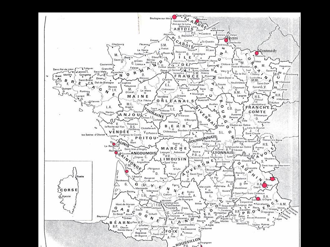 Gravelines Rocroi Montmédy