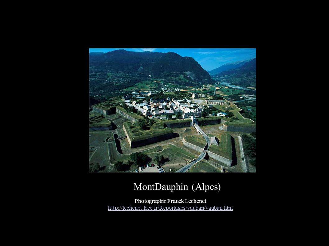 MontDauphin (Alpes) Photographie Franck Lechenet http://lechenet.free.fr/Reportages/vauban/vauban.htm.