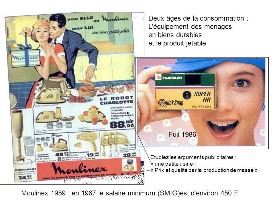 Deux âges de la consommation : L'équipement des ménages