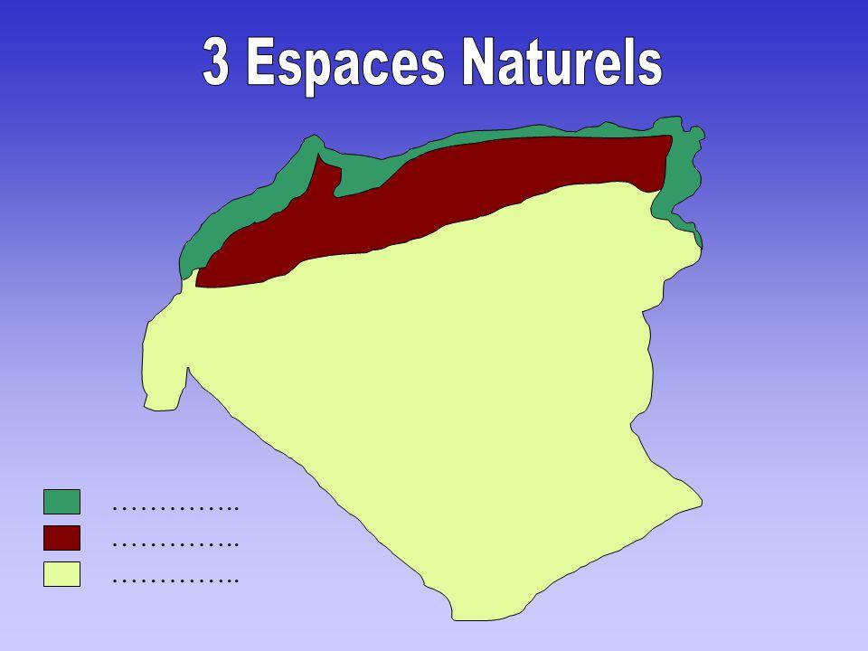 3 Espaces Naturels ………….. ………….. …………..