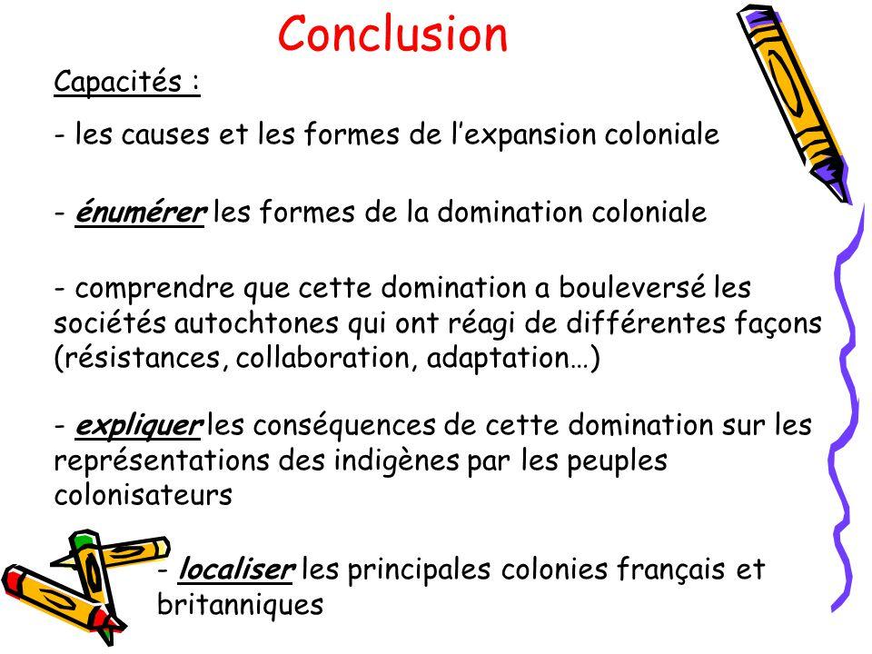 Conclusion Capacités :