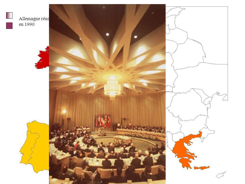 Allemagne réunifiée en 1990