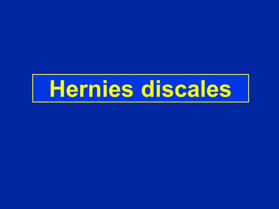 Hernies discales