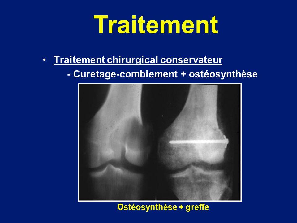 Ostéosynthèse + greffe