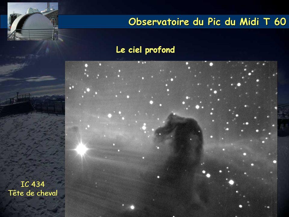 Le ciel profond IC 434 Tête de cheval