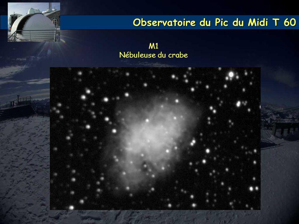 M1 Nébuleuse du crabe