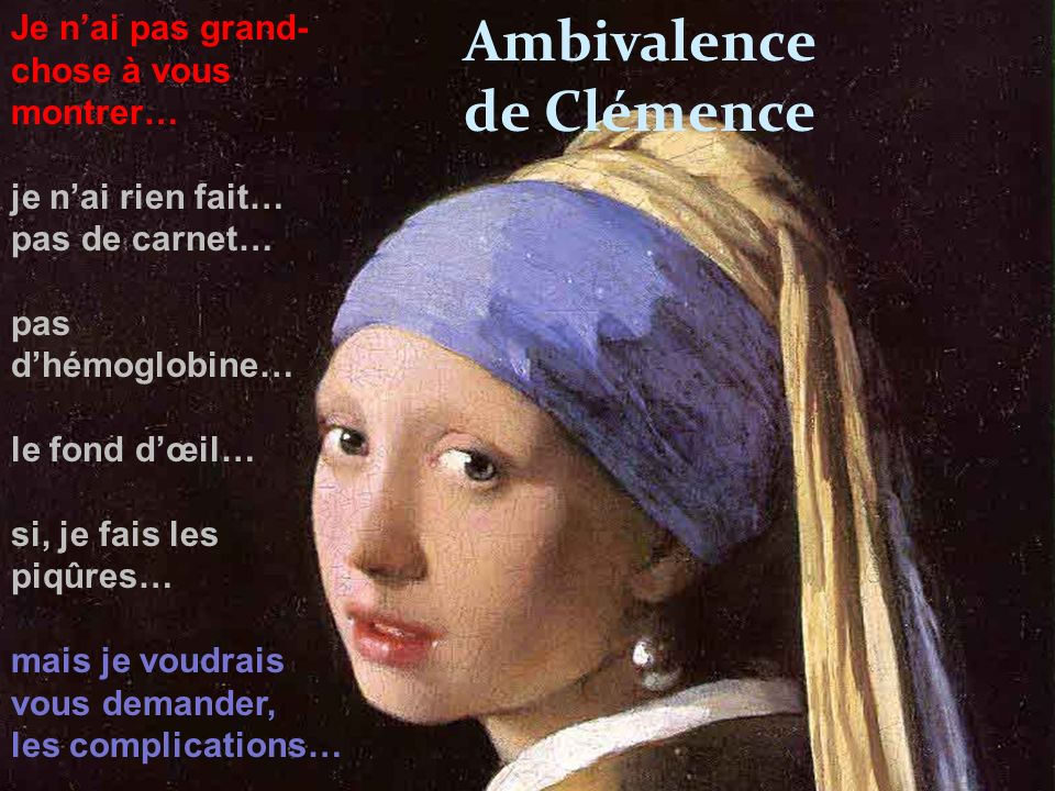 Ambivalence de Clémence