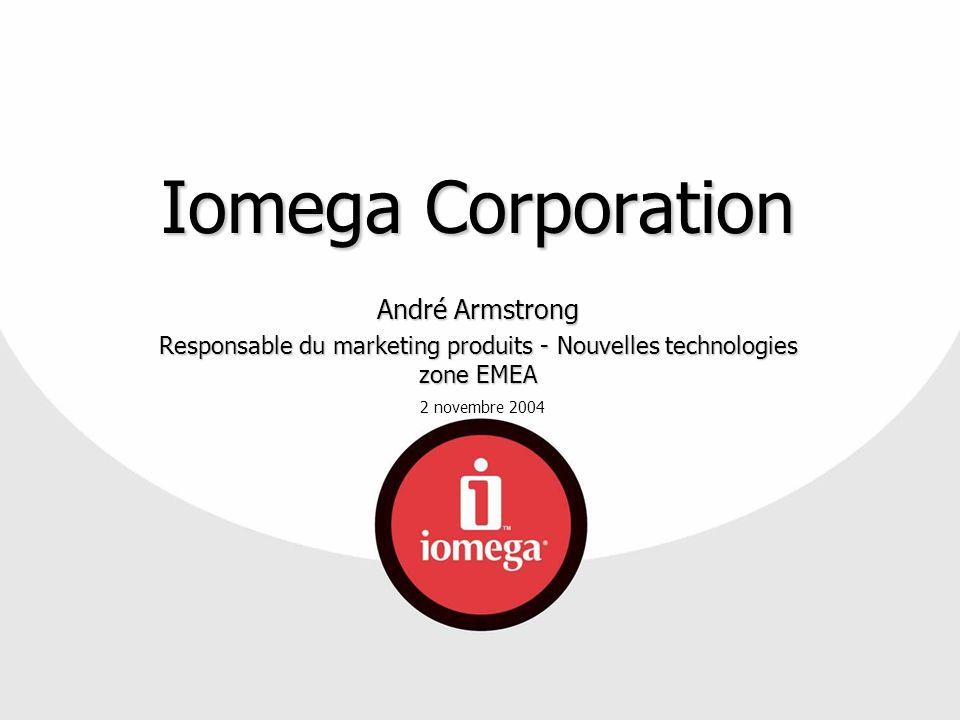 Responsable du marketing produits - Nouvelles technologies zone EMEA