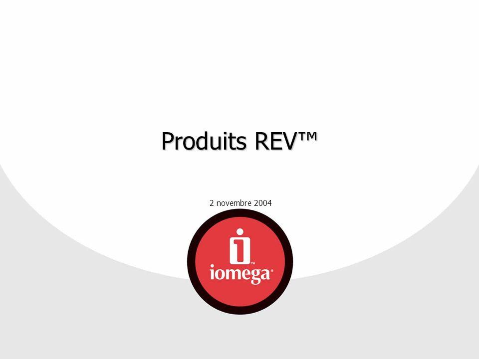 Produits REV™ Bienvenue à la séance de maths Iomega en chiffres...