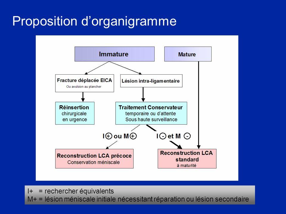 Proposition d'organigramme