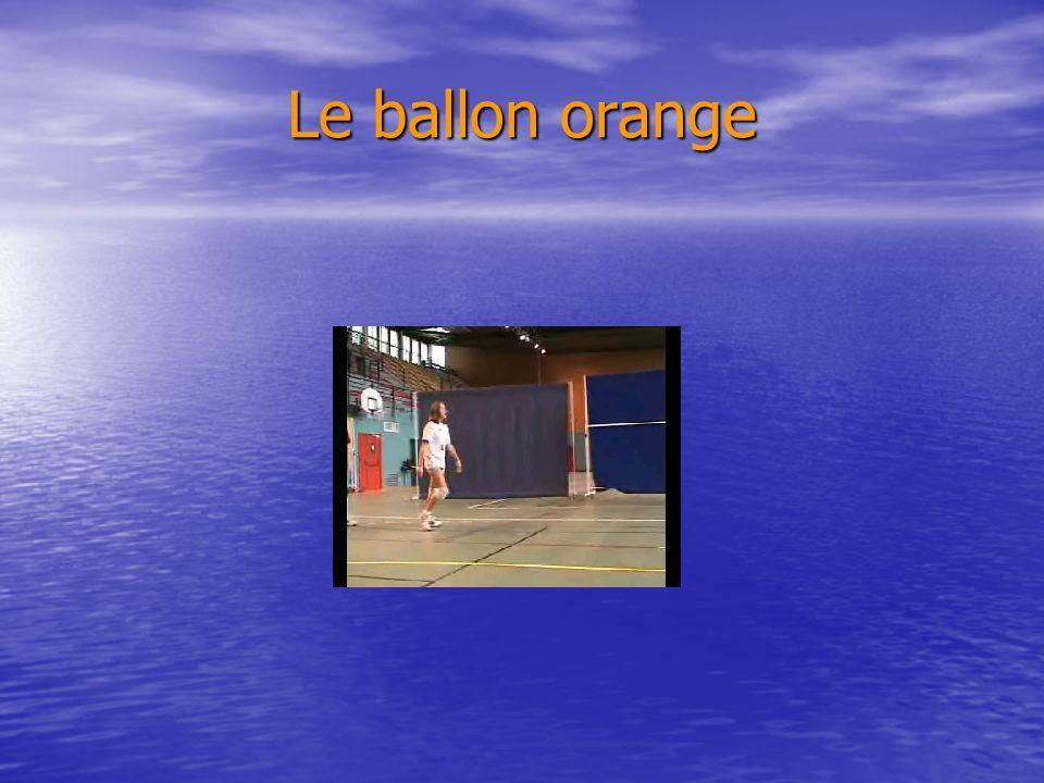 Le ballon orange